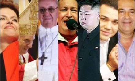 """Papa Novo, Tirano Emergente na Coreia do Norte, Morte de Ditador na América do Sul, Fanáticos Religiosos que Escandalizam o País, o Brasil em Ameaça de Crise Econômica, o """"Fim do Mundo""""."""