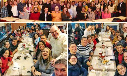 Novos registros de momentos felizes das caravanas do ISQ em Nova York