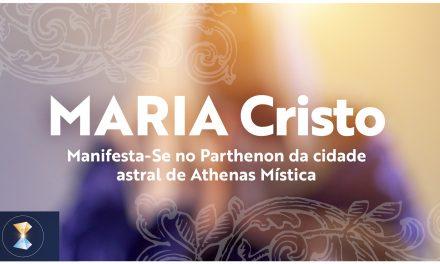 MARIA Cristo Manifesta-Se no Parthenon da cidade astral de Athenas Mística