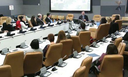 ONU, Evento de 2012 – Palestra de Marcone Vieira, representante do Instituto Salto Quântico nos EUA.