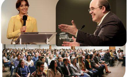 A palestra de Benjamin Teixeira de Aguiar, destinada ao público jovem, foi um sucesso