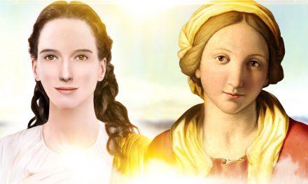 Nova Aparição inesquecível de MARIA Santíssima!