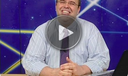 """Programa Salto Quântico de 26 de Dezembro de 2009 – Transmitido às 9h (Brasília), via satélite, para quase toda a América Latina, e, por TV aberta, pela Aperipê TV, em Aracaju, às 8h (à guisa de episódio de """"A Hora da Espiritualidade"""")."""