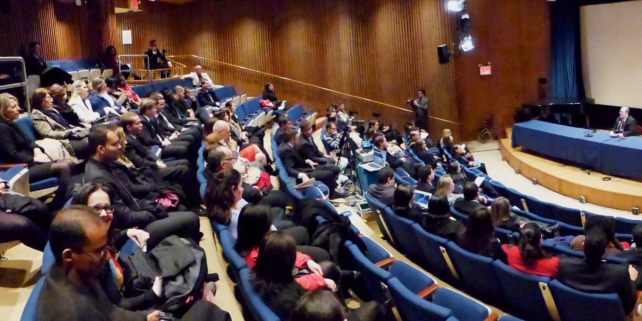 A versão 2013 do Evento do ISQ na sede das Nações Unidas.