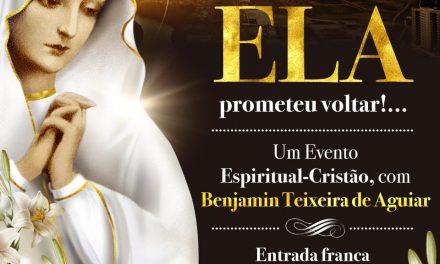 """Iniciou-se a campanha de divulgação do MARIA Cristo 2017, com a """"Descida de Nossa Mãe Maior sobre a superfície da Terra"""""""