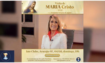 TB participa de empolgante convite para o Evento Visita de MARIA Cristo em 2019