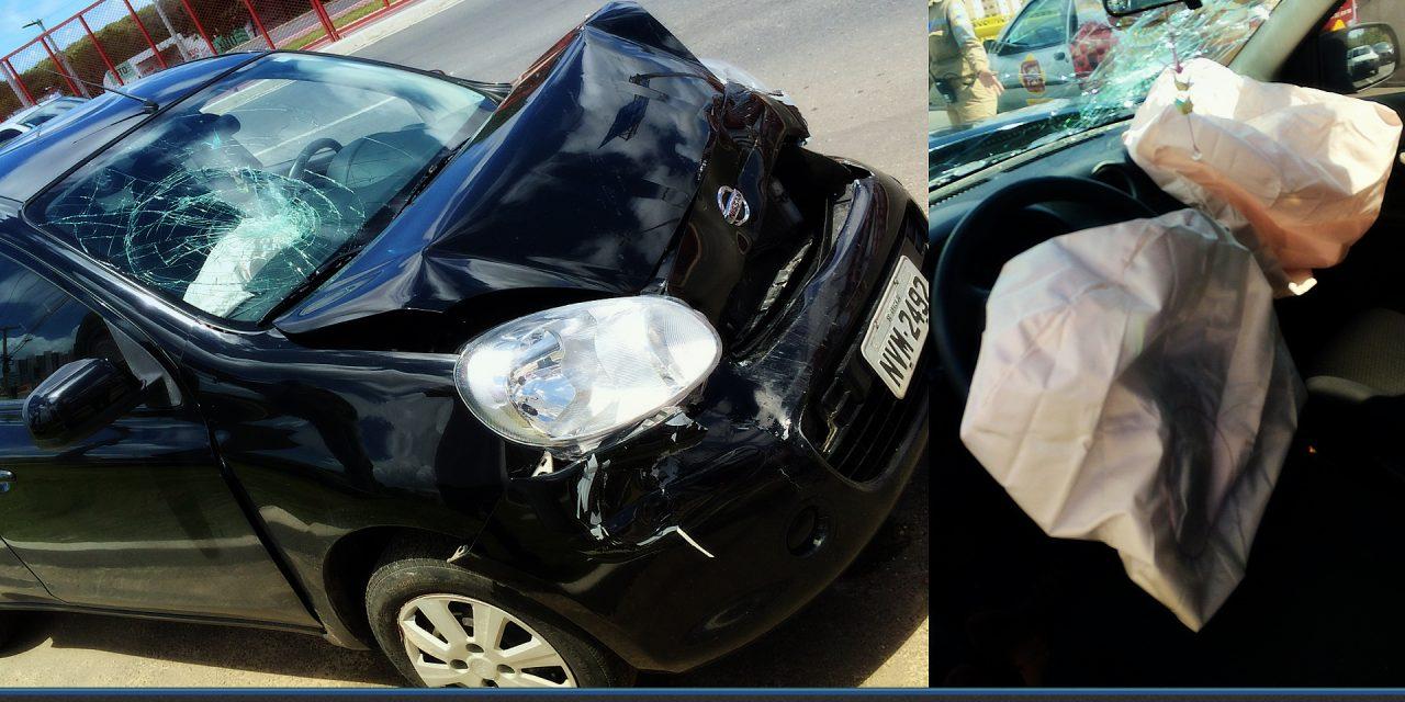Salva de um acidente, a psicóloga concede mais um testemunho.