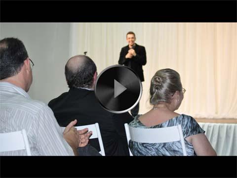 O Depoimento Apaixonado de Wagner de Aguiar, o Jovem e Brilhante (*) Esposo de Benjamin de Aguiar, na Celebração dos 40 Anos do Líder Encarnado do Instituto Salto Quântico.