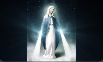 Aparição de Maria Santíssima a Mães Santas do Céu.