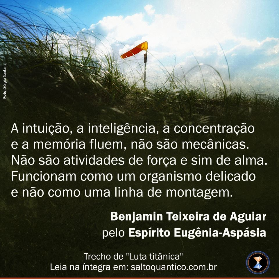 Intuição, inteligência, concentração e memória