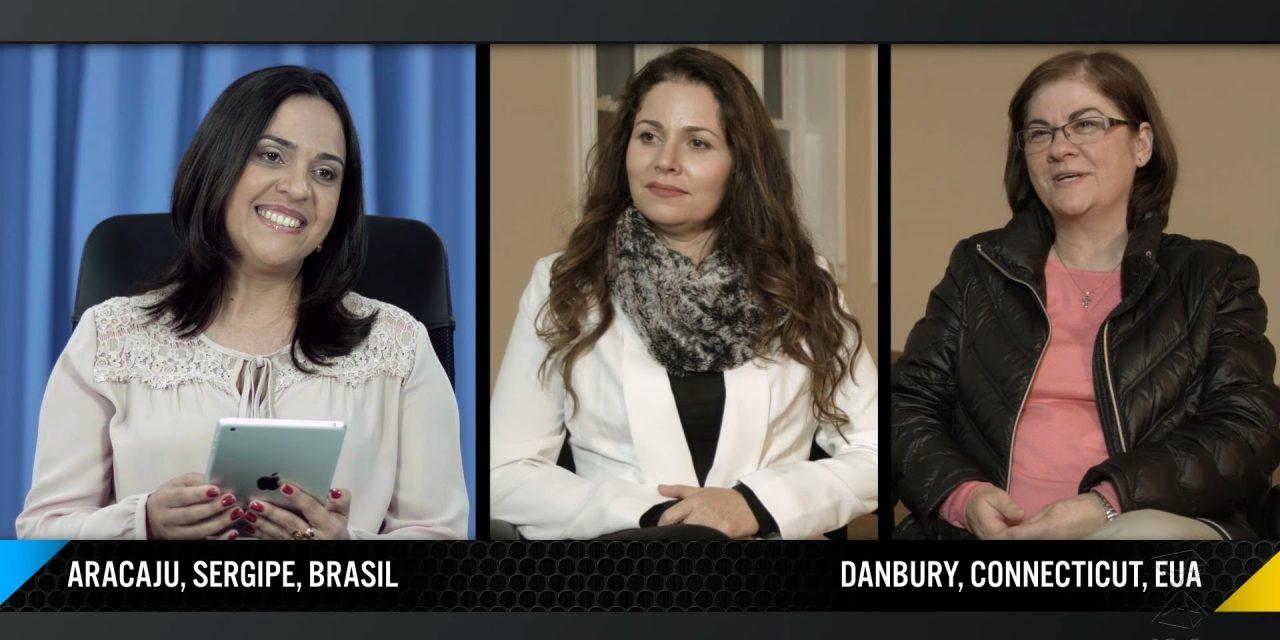 Bancária e professora (integrantes do núcleo do ISQ nos EUA) concedem testemunho sobre o Fenômeno das Não Mortes.
