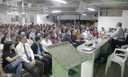 Benjamin Teixeira de Aguiar e semana de palestras em Recife.