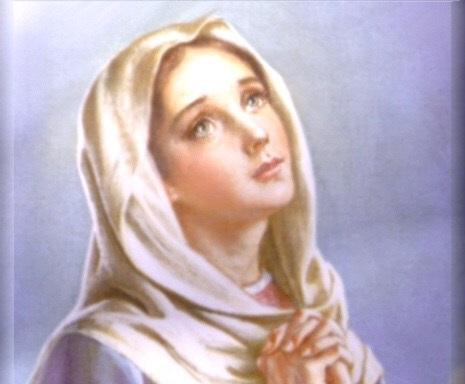 Dorido convite de MARIA Santíssima