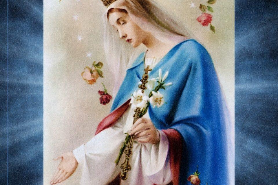 Escreva sua carta pessoal a Maria Santíssima…