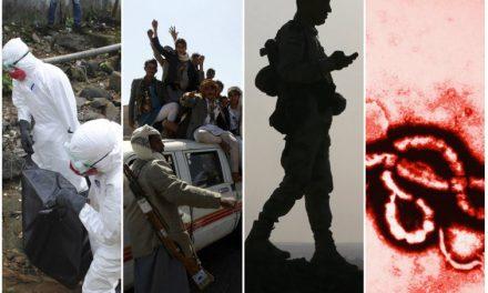"""Epidemia de ebola, """"Estado Islâmico"""" e ilusão da """"separatividade""""."""