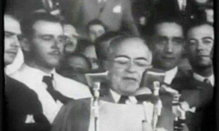 Getúlio Vargas – Ilustração com comentários de Benjamin, na palestra do dia 31 de janeiro de 2010.