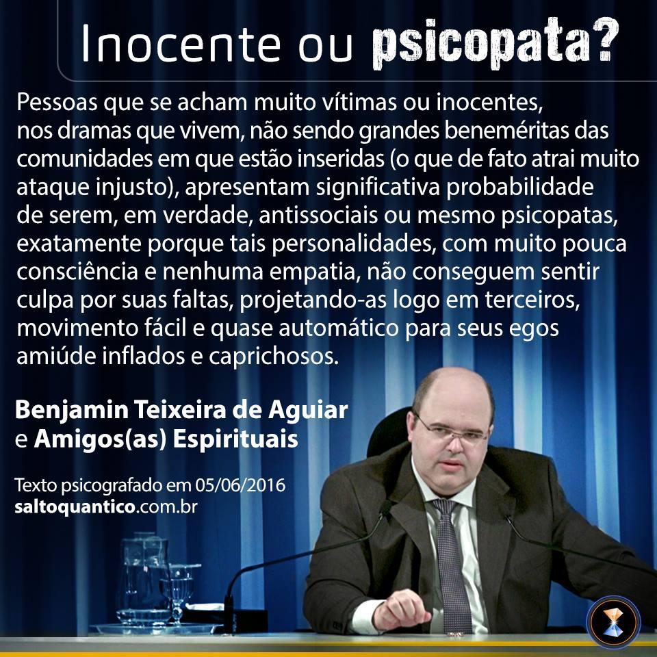 Inocente ou psicopata