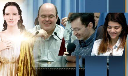 Linguista e empresária recebem mensagens do Espírito Eugênia-Aspásia, pelo médium Benjamin Teixeira de Aguiar, que evidenciam a existência do Mundo Espiritual