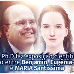 Na ONU, Ph.D. faz exposição científica sobre a relação entre Benjamin, Eugênia-Aspásia e MARIA Santíssima