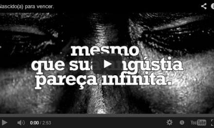 Nascido(a) para vencer – vídeo-mensagem.