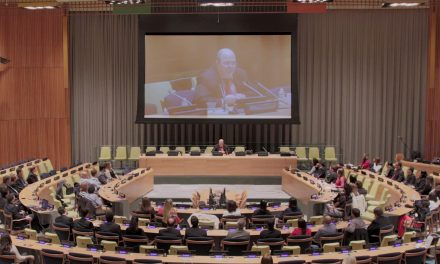 Preparativos finais para o Evento anual do ISQ na sede mundial das Nações Unidas.