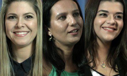 """Novas apresentadoras da sessão de testemunhos sobre o """"Fenômeno das Não Mortes"""" no ISQ."""