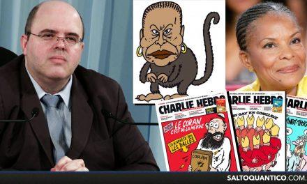 O terrorismo moral da Charlie Hebdo.