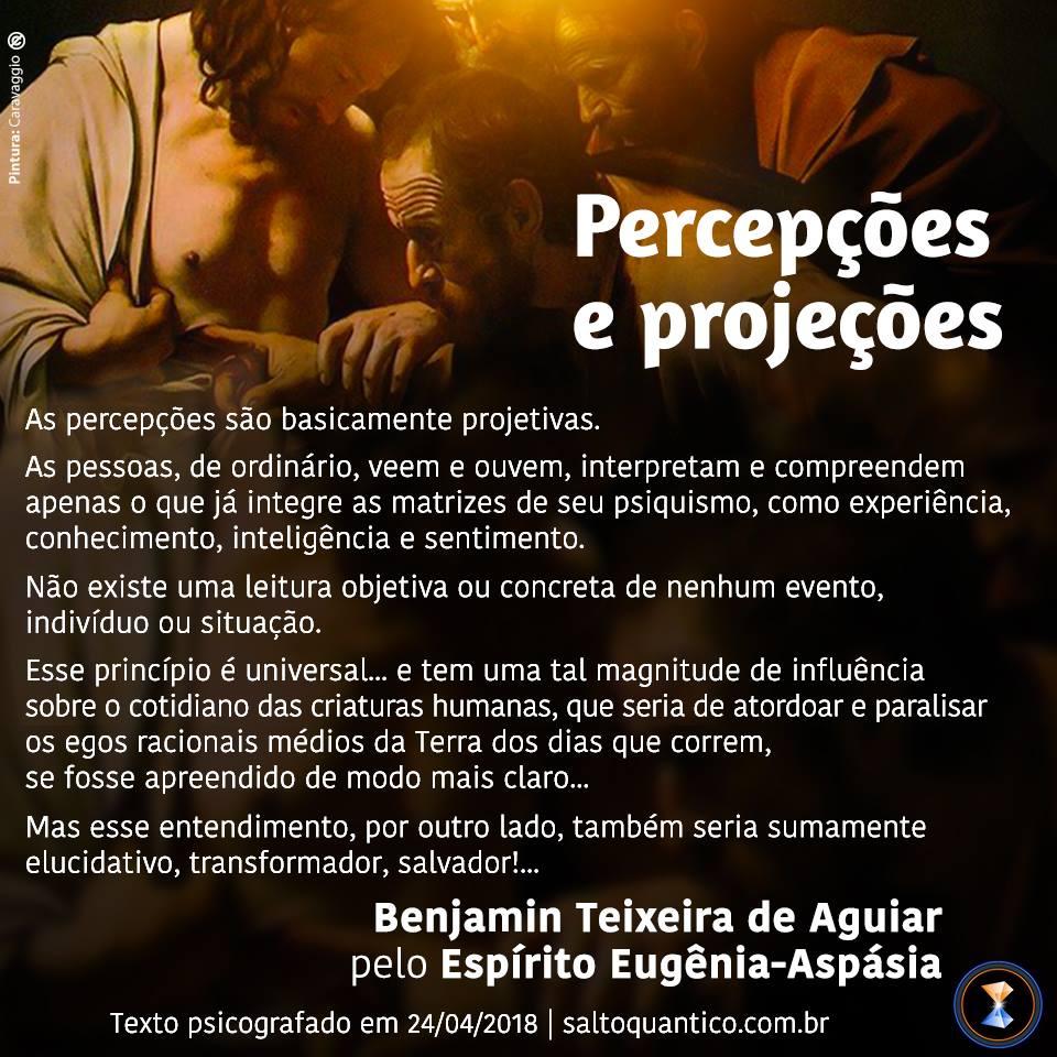 Percepções e projeções